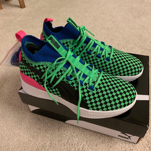 competitive price 32fdd 220ff Puma Clyde Court Summertime Basketball Shoes